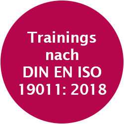 Trainings nach DIN EN ISO 19011:2018