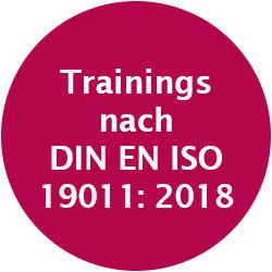 Trainings nach DIN EN ISO 19011:2018