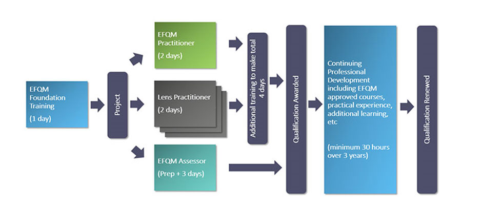 Bildungsschema EFQM