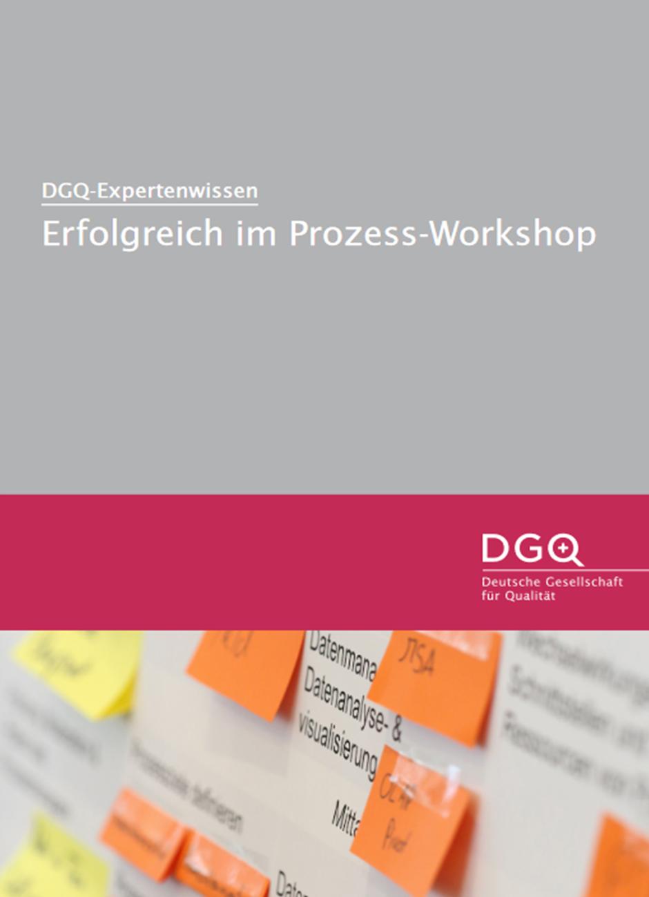 DGQ-Whitepaper: Erfolgreich im Prozess-Workshop