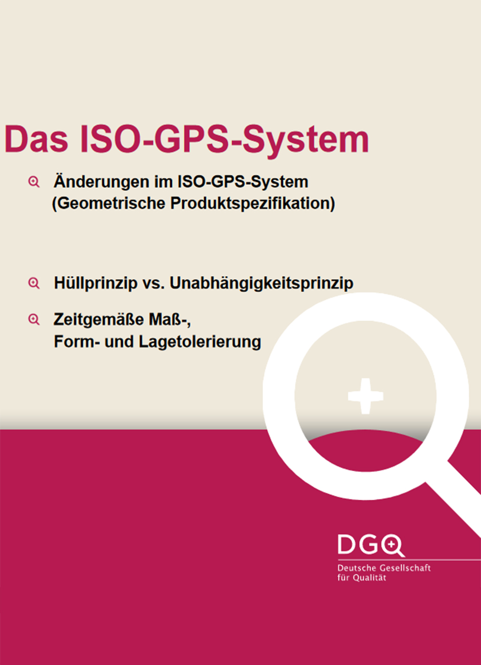 DGQ-Infografik: Überblick zum ISO-GPS-System