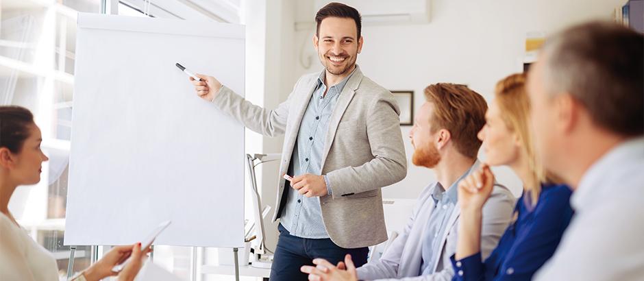 Kommunikation und Präsentatoin