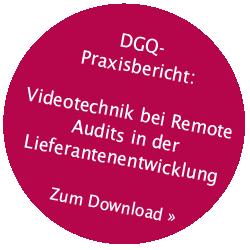 DGQ-Praxisbericht Remote Audit