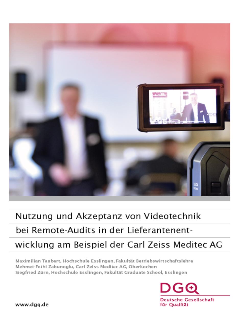 DGQ-Whitepaper: Remote Audits in der Lieferantenentwicklung